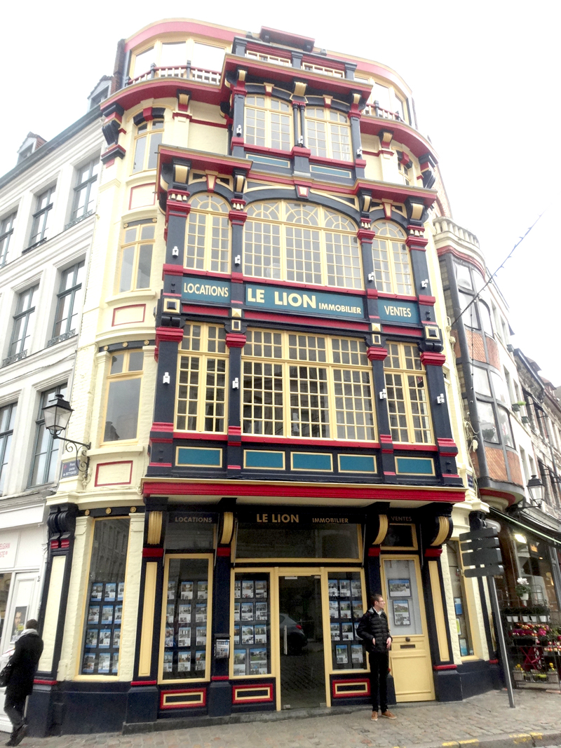 Mon voyage à Lille