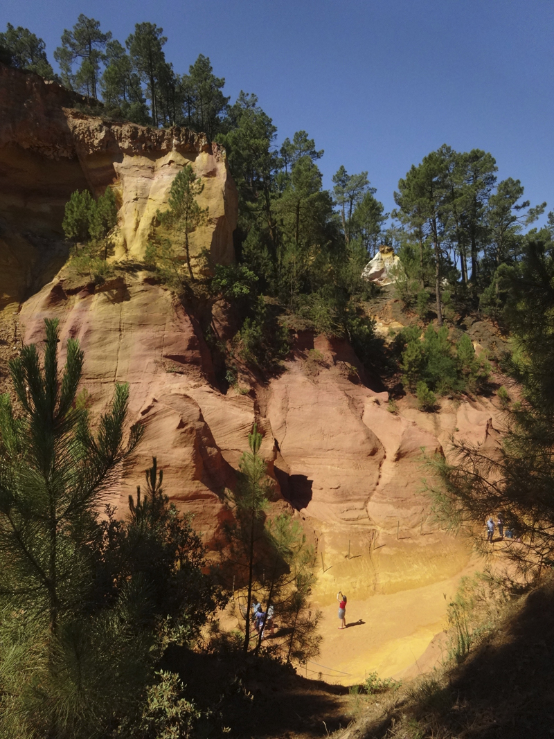 Mon voyage dans le Lubéron Roussillon