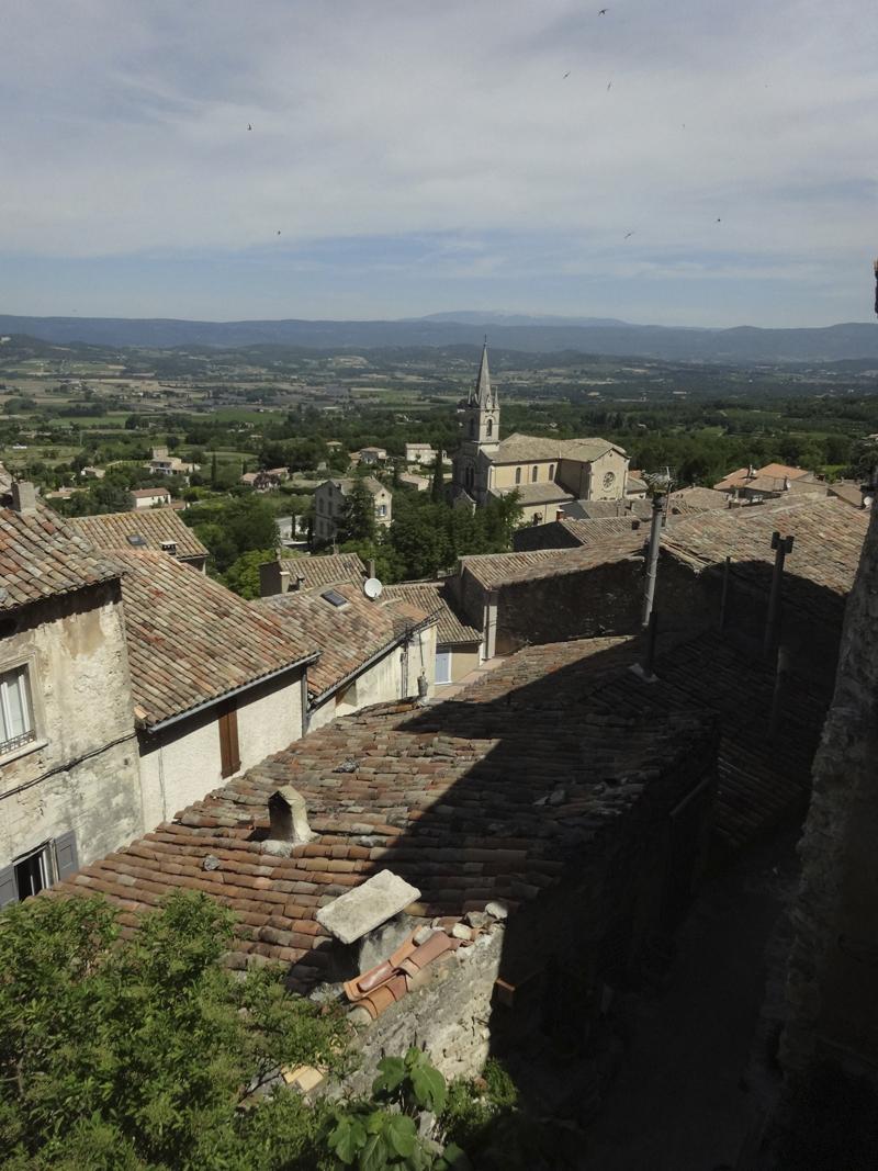 Mon voyage dans le Lubéron Bonnieux