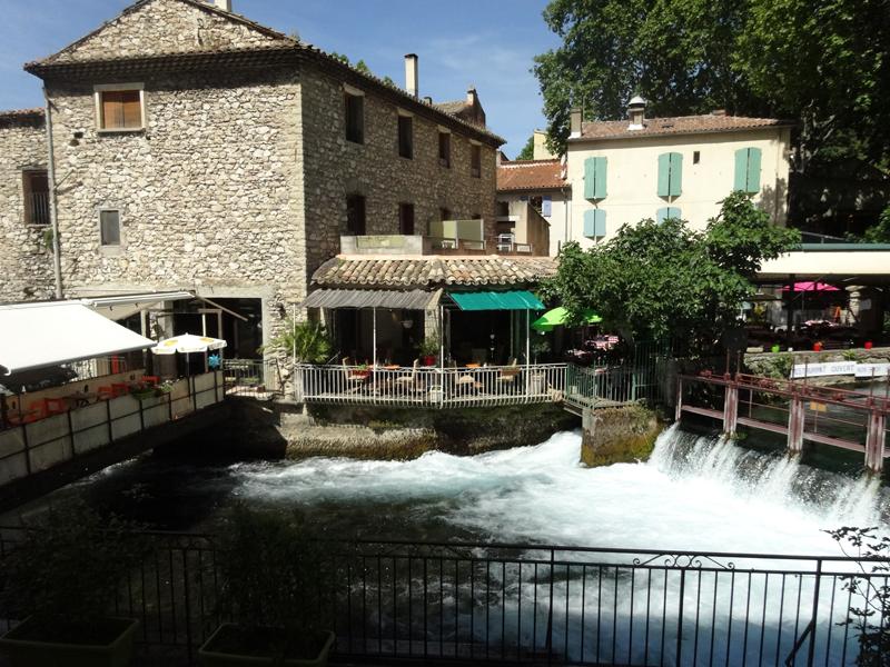 Mon voyage dans le Lubéron Fontaine de Vaucluse