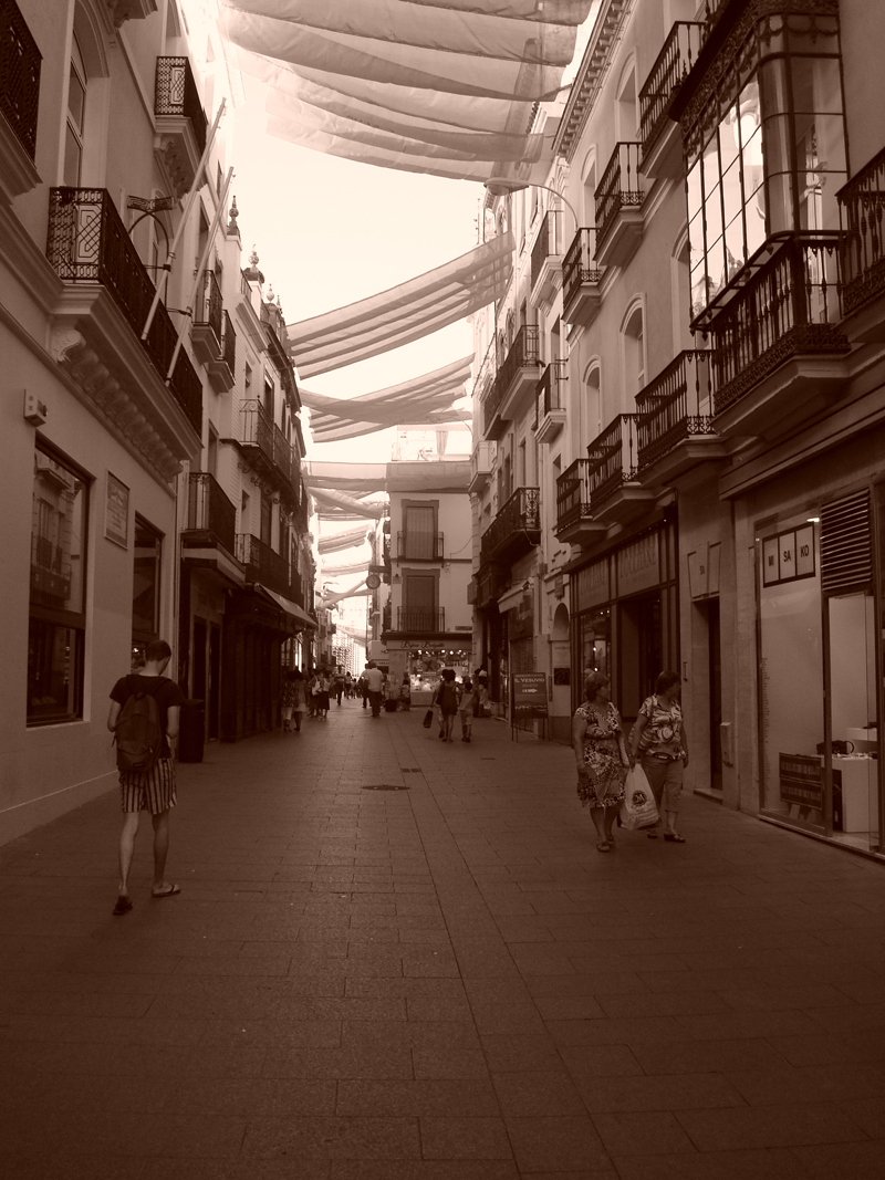 Mon voyage en Espagne Séville