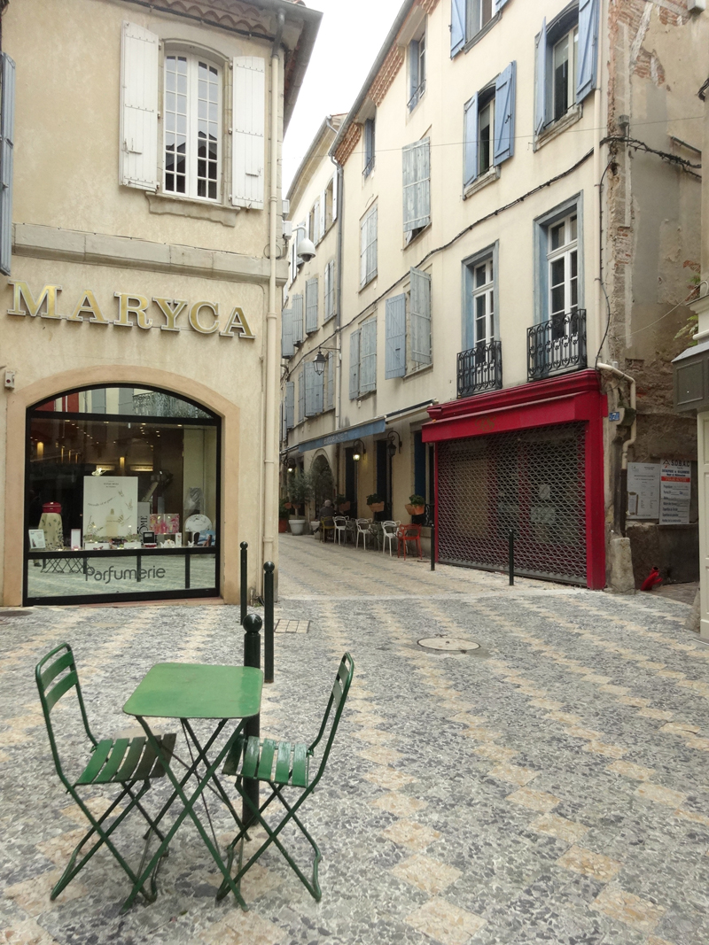Mon voyage à Castres en France