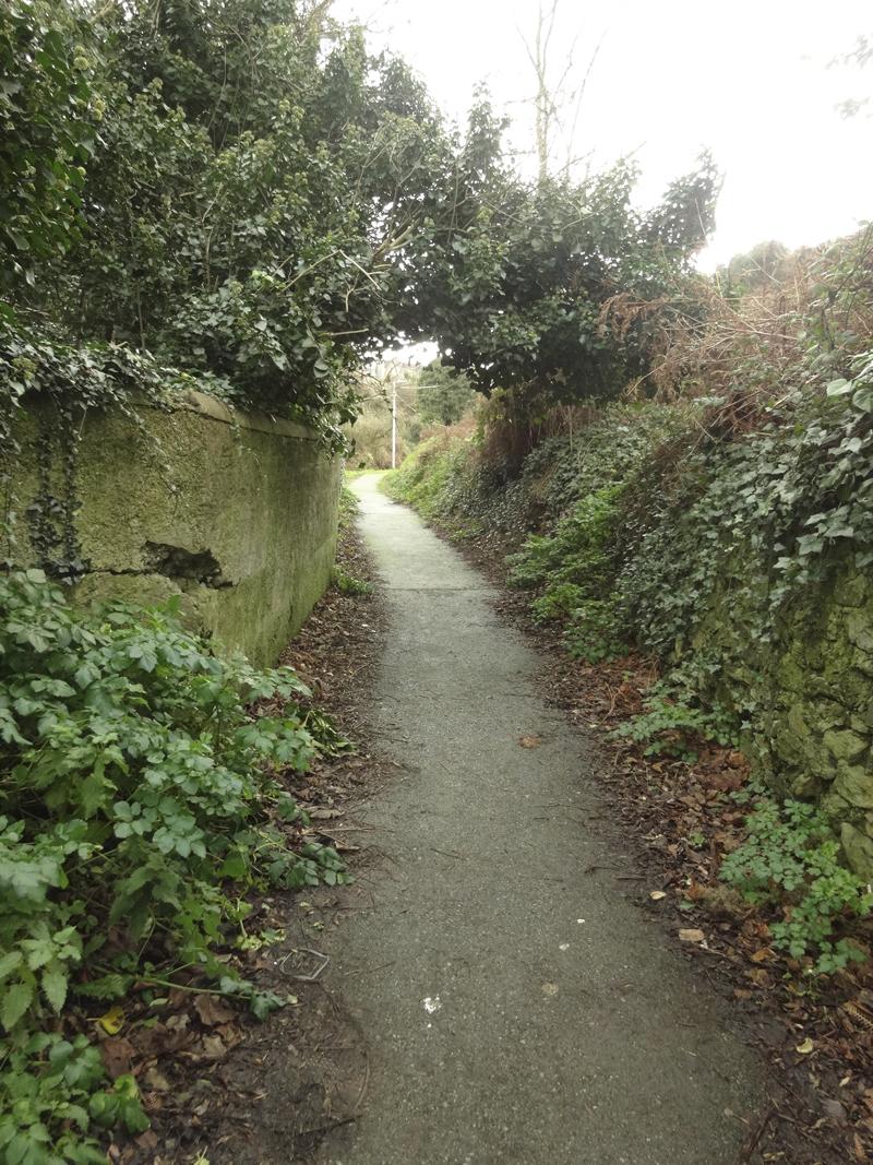 Village Howth en banlieu de Dublin en Irlande