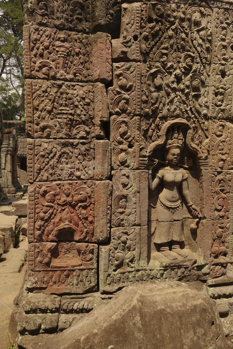 Visite des temples d'Angkor à Siem Reap au Cambodge