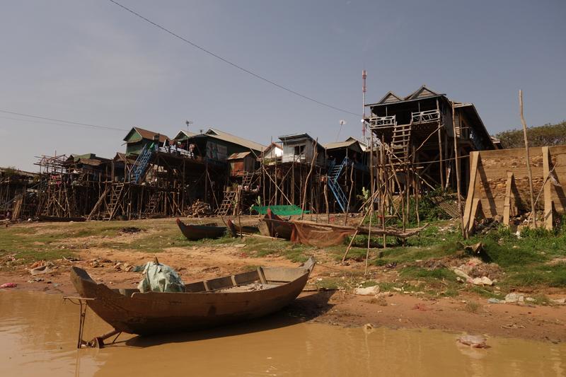 Mon voyage au Village flottant Kompong Khleang au Cambodge