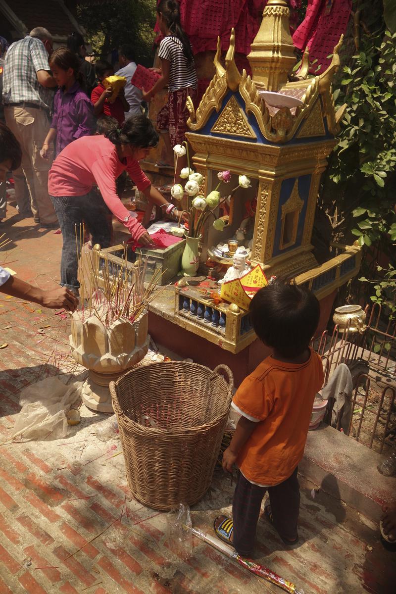 Mon voyage au Cambodge, le temple Wat Phnom
