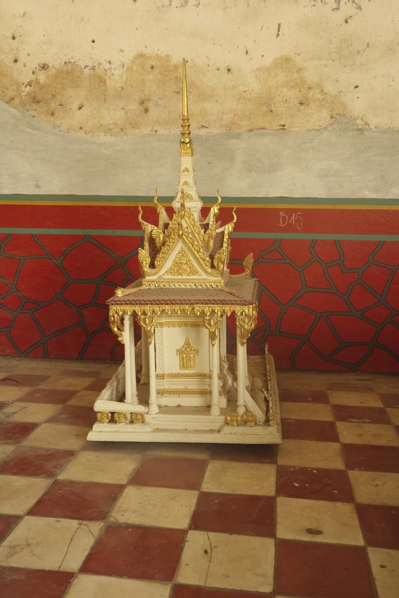 Mon voyage au Cambodge, le Palais Royal et la Pagode d'argent