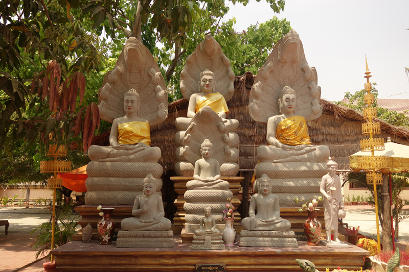 Mon voyage au Cambodge La pagode Preah Theat Mean Bon