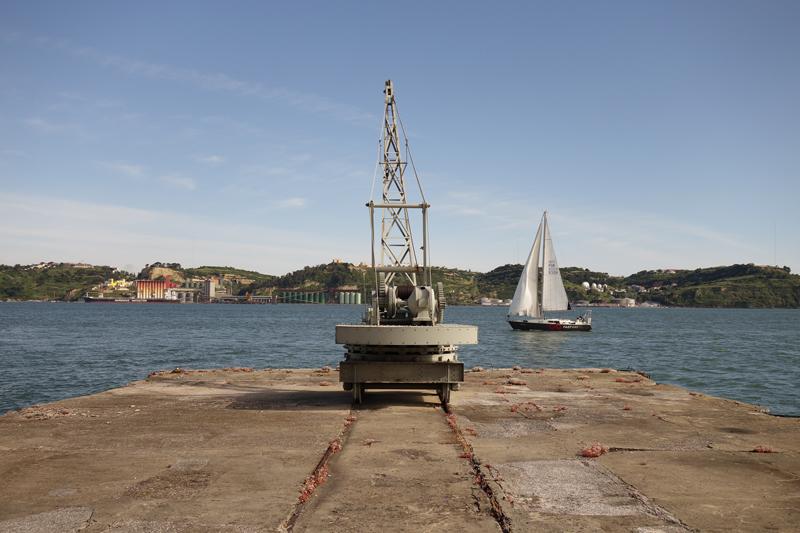 Ballade le long du Tage à Lisbonne au Portugal