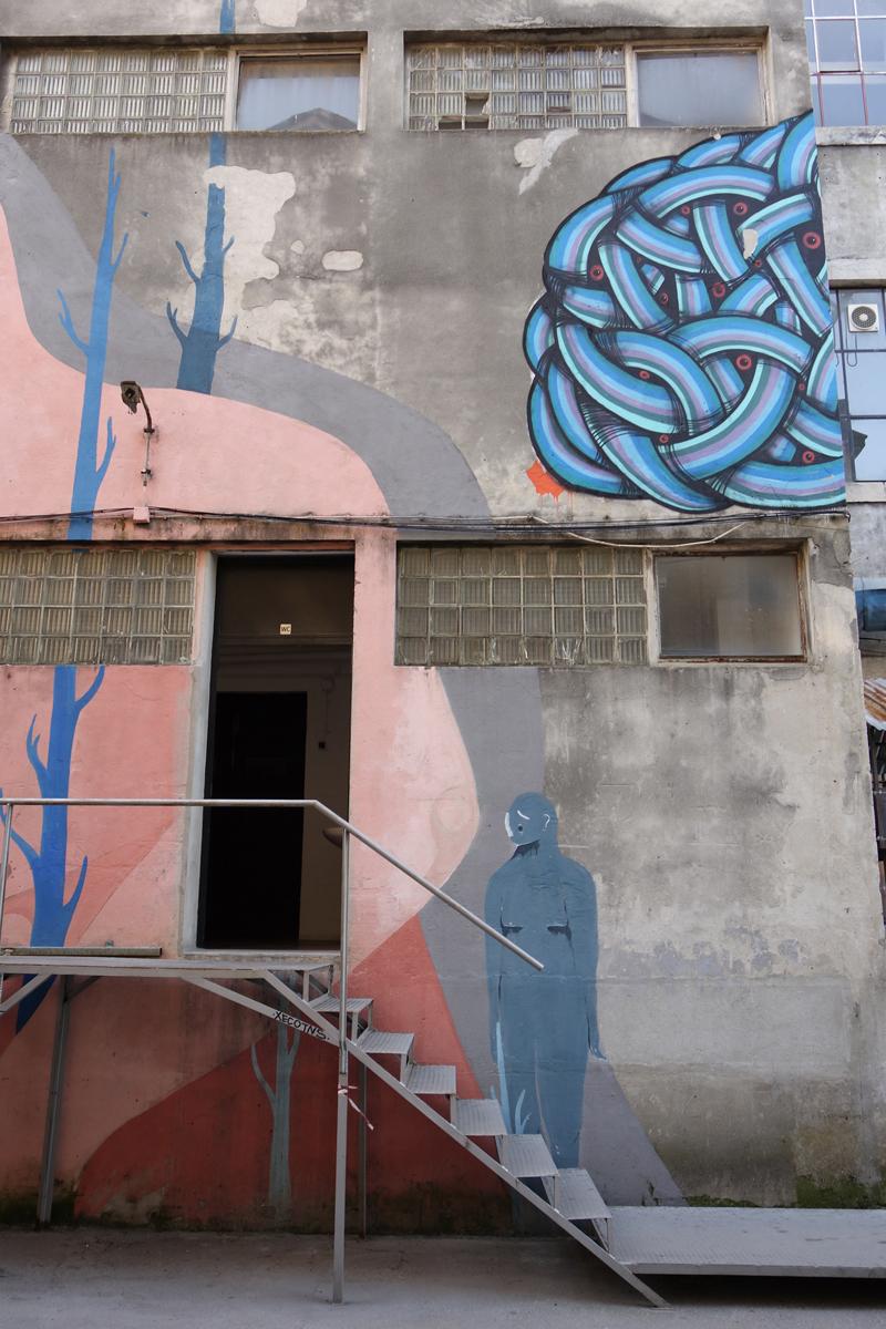 LX Factory à Lisbonne au Portugal