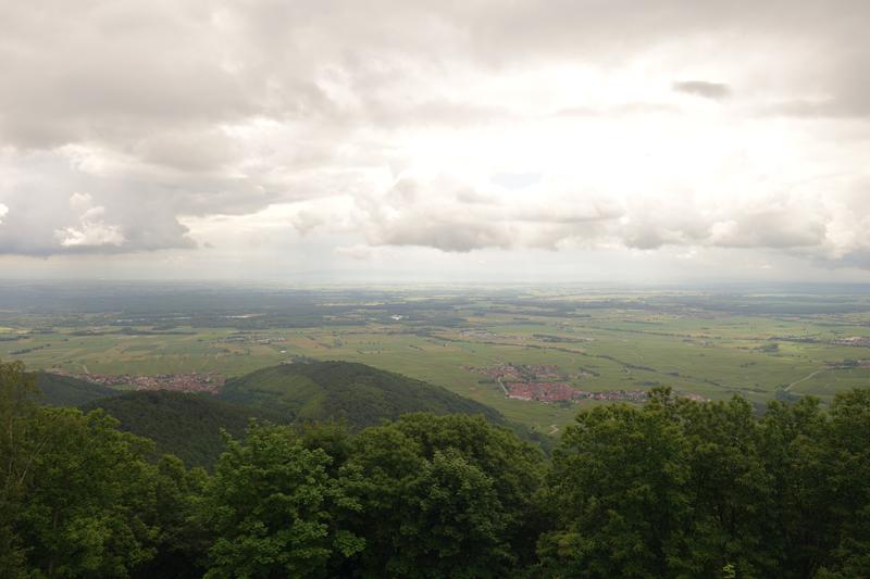 Mon voyage à Haut-Koenigsbourg en france