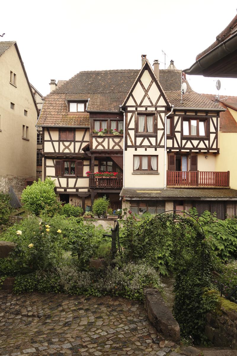 Mon voyage à Kaysersberg en Alsace en France