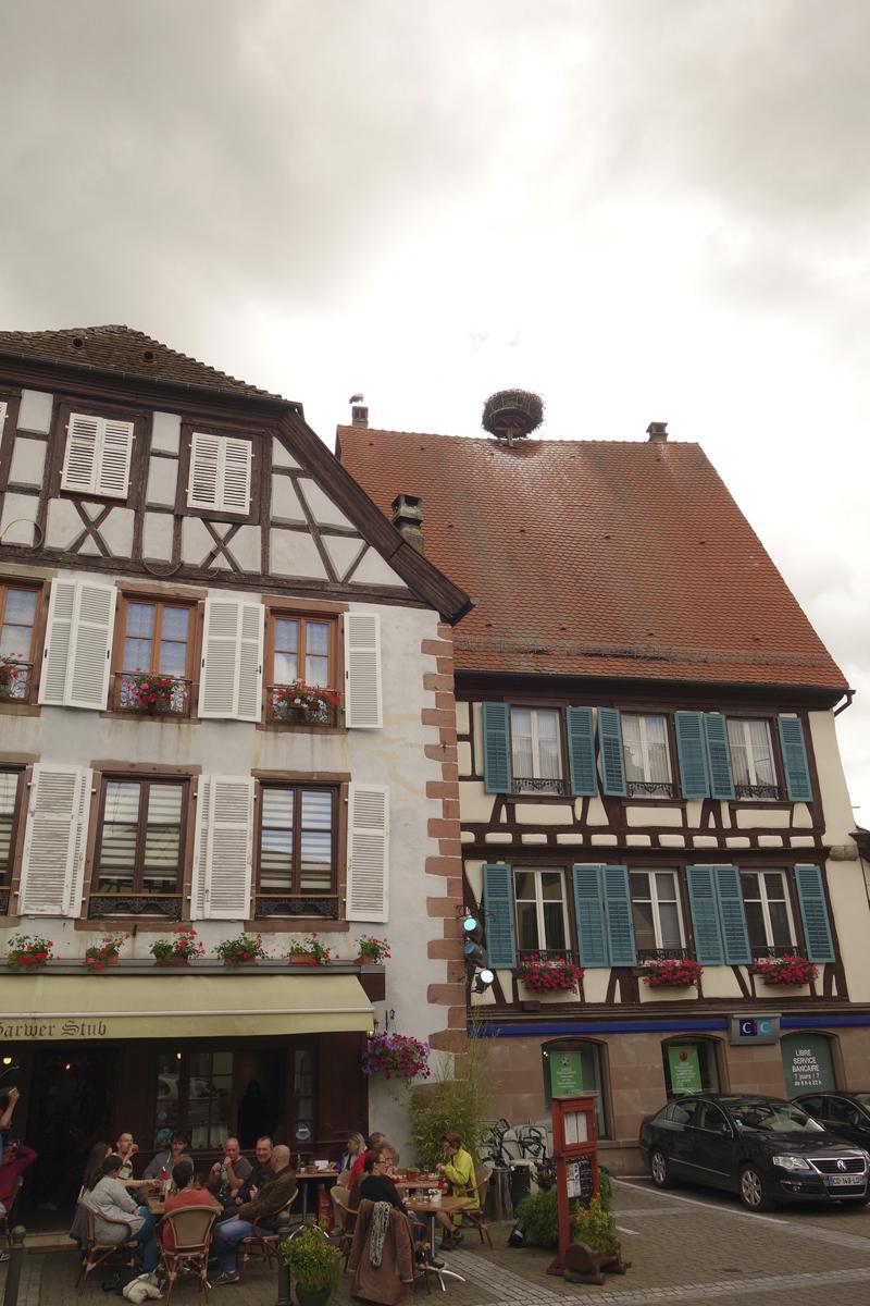 Mon voyage à Ribauvillé en Alsace en France