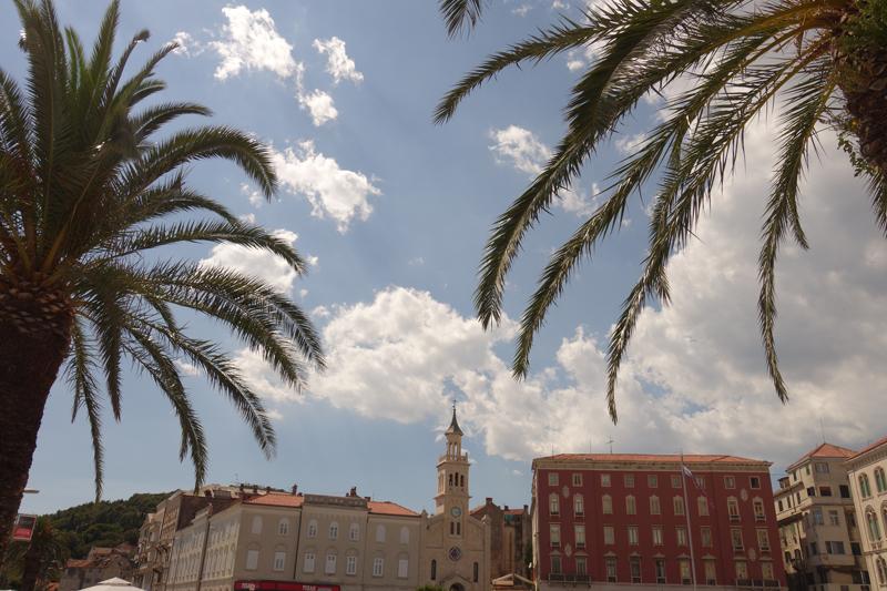 Mon voyage à Split en Croatie