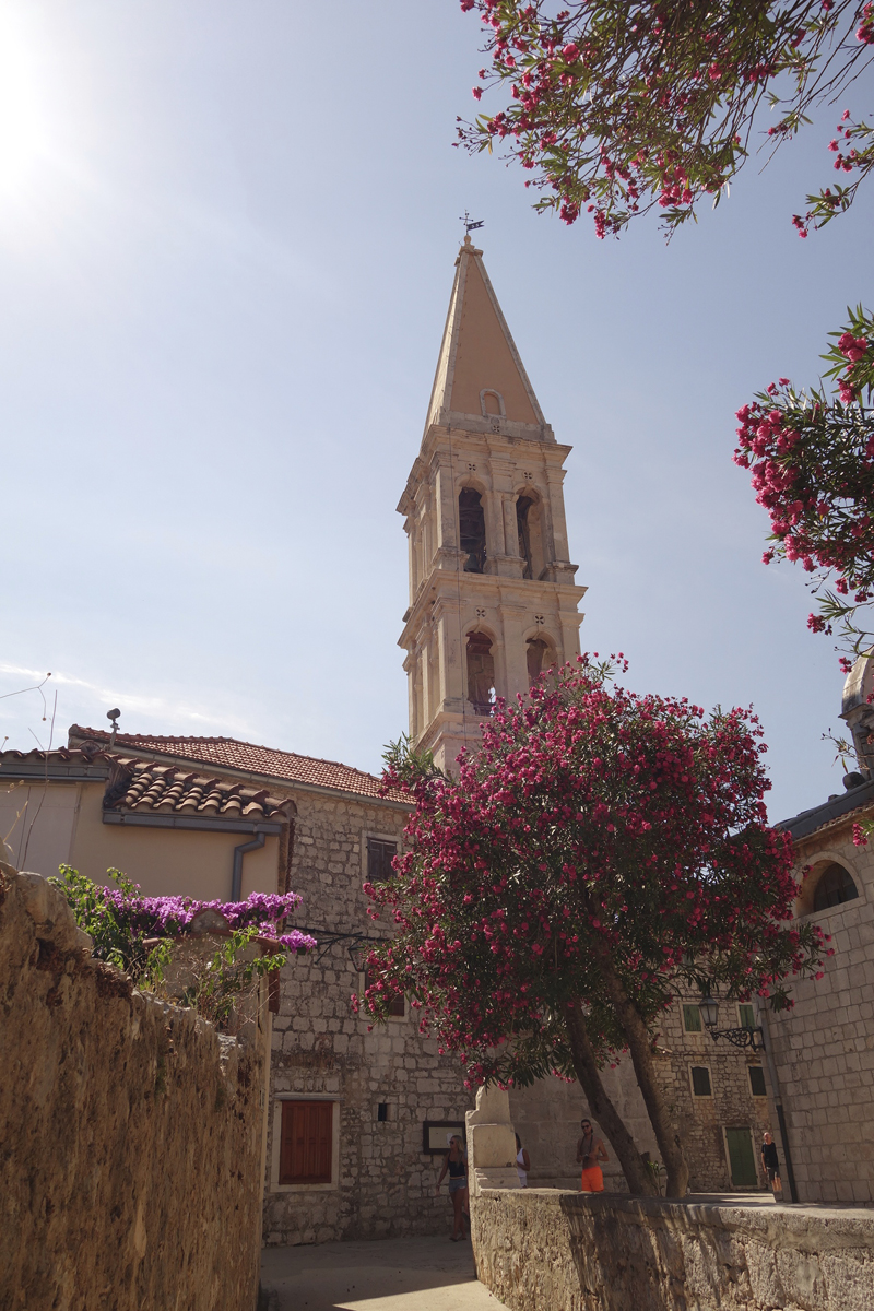 Stari Grad sur l'île d'Hvar en Croatie
