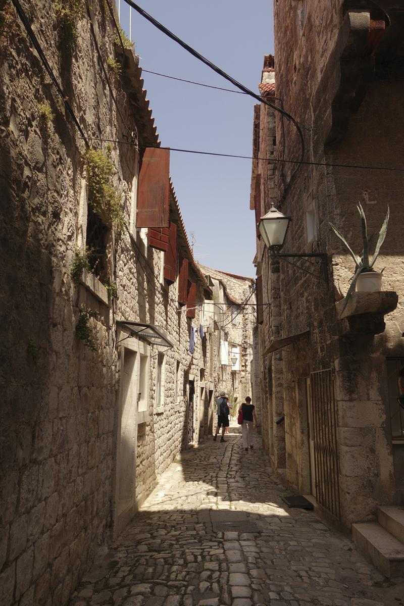 Mon voyage à Trogir en Croatie