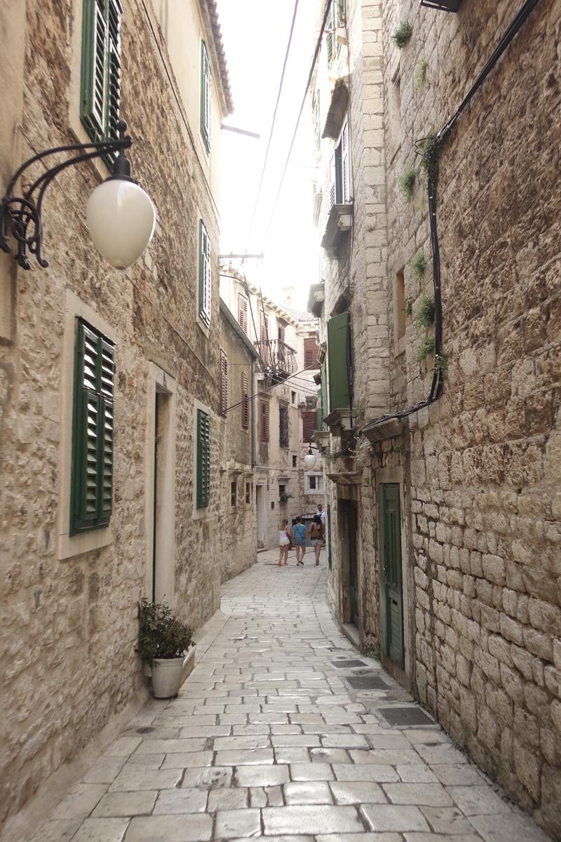 Mon voyage à Sibenik en Croatie
