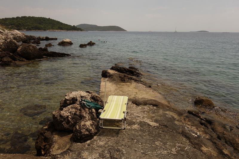 Mon voyage sur l'île Prvic au village Prvic Luka en Croatie