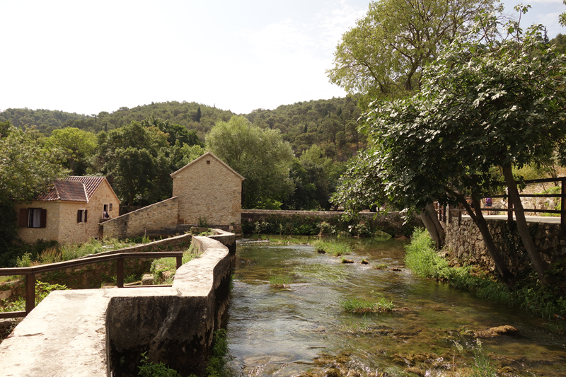 Mon voyageau Parc National Krka en Croatie