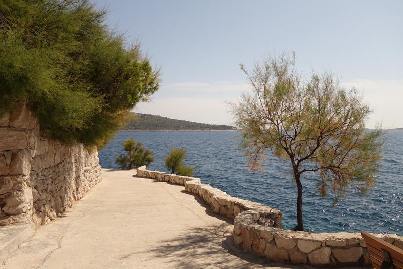 Mon voyage à Primosten en Croatie