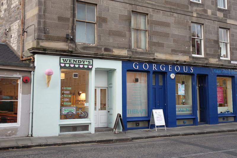 Mon voyage à Édimbourg en Écosse Quartier Stockbridge