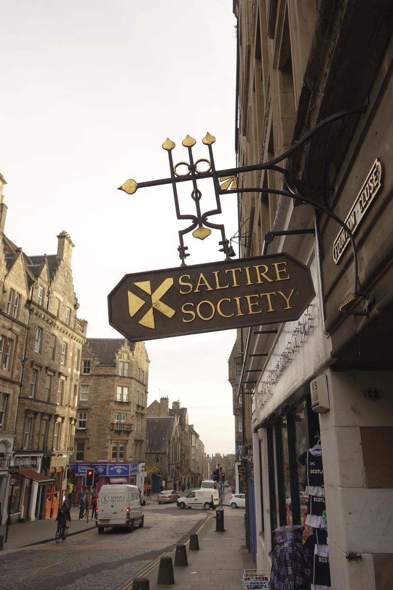 Mon voyage à Édimbourg en Écosse Autour de High Street