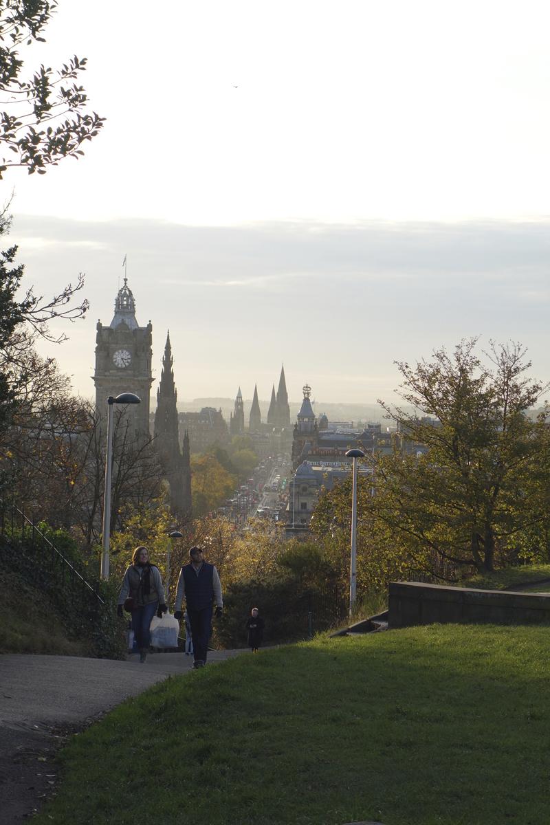 Mon voyage à Calton Hill à Édimbourg en Écosse