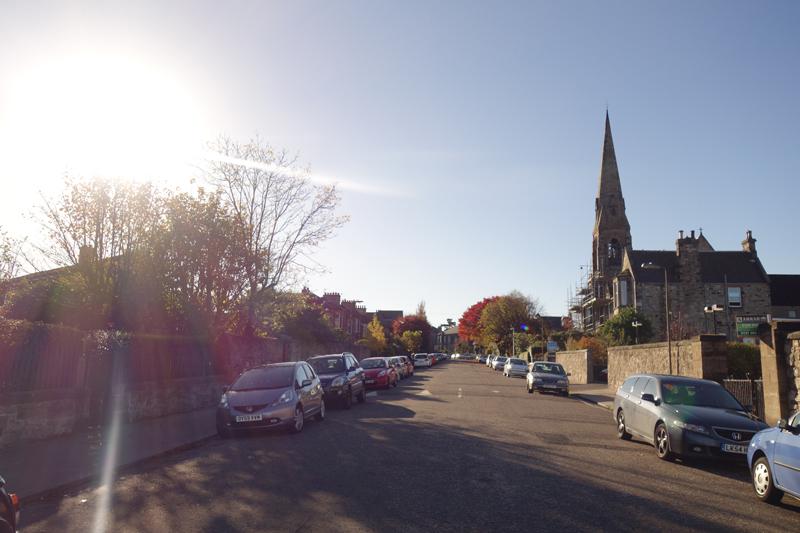 Mon voyage à Portobello à Édimbourg en Écosse