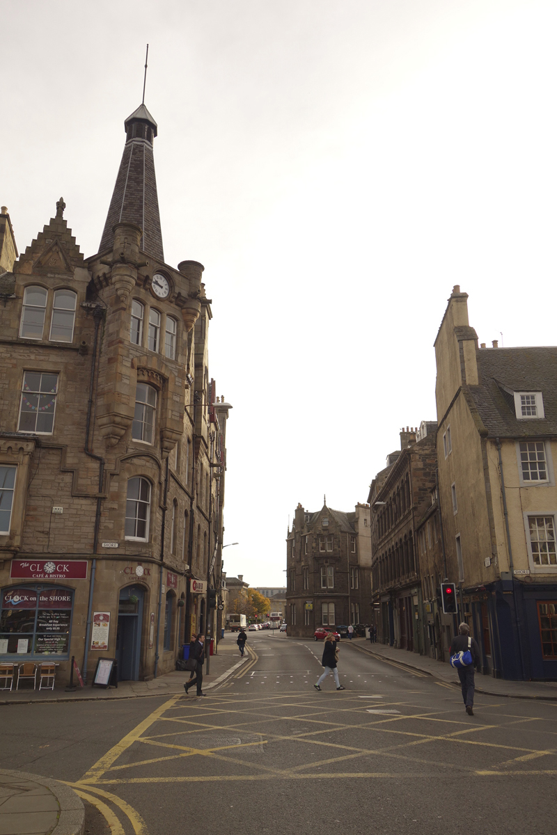Mon voyage dans le Quartier du port de Leith à Édimbourg en Écosse