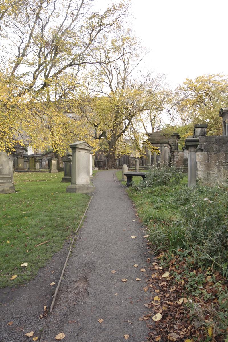 Mon voyage au Sanctuaire Greyfriars Kirk à Édimbourg en Écosse