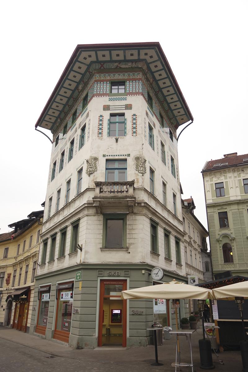 Mon voyage à Ljubljana en Slovénie