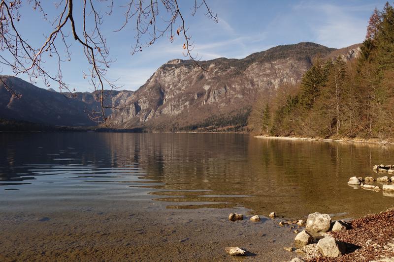 Mon voyage à Bohinj en Slovénie
