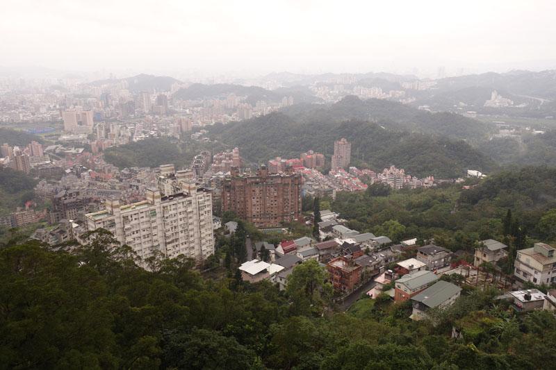 Voyage à Maokong à Taipei Taïwan