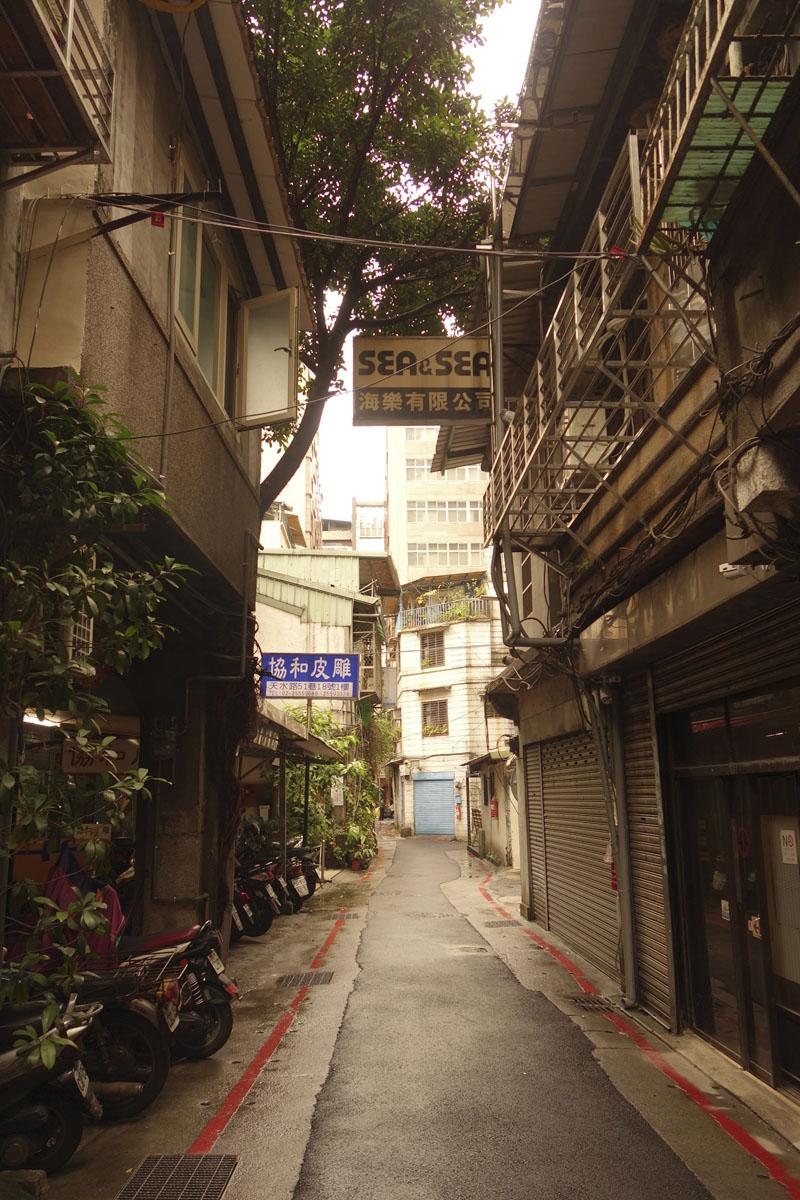 Voyage à Taipei à Taïwan Quartier Dihua street