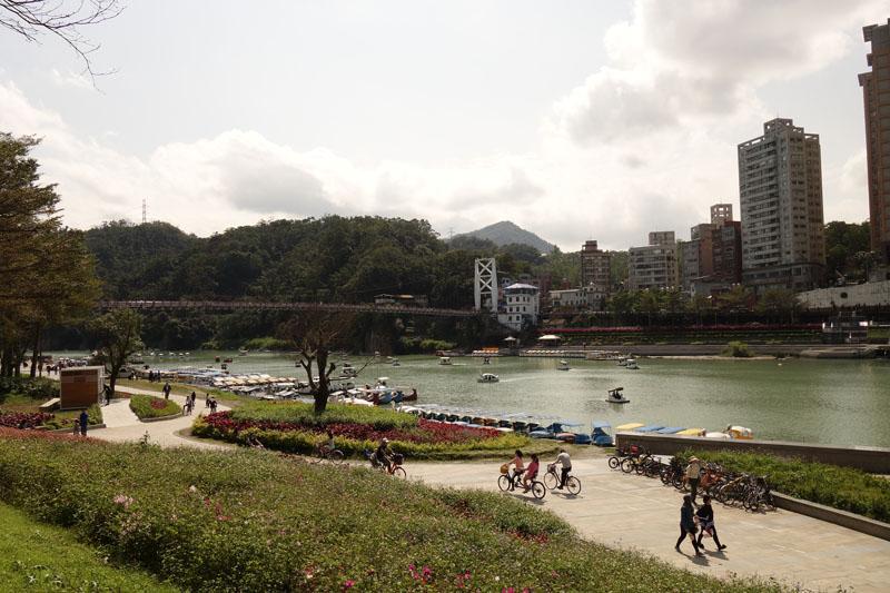 Mon voyage au Quartier de Xindian à Taipei à Taïwan
