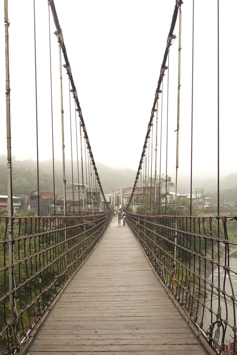 Mon voyage à Shifen à Taïwan