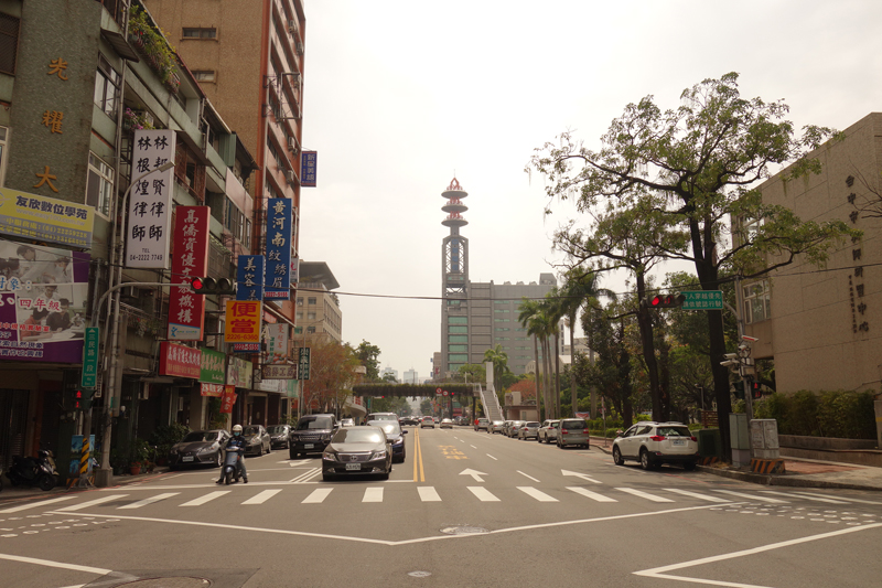 Mon voyage à Taichung à Taïwan