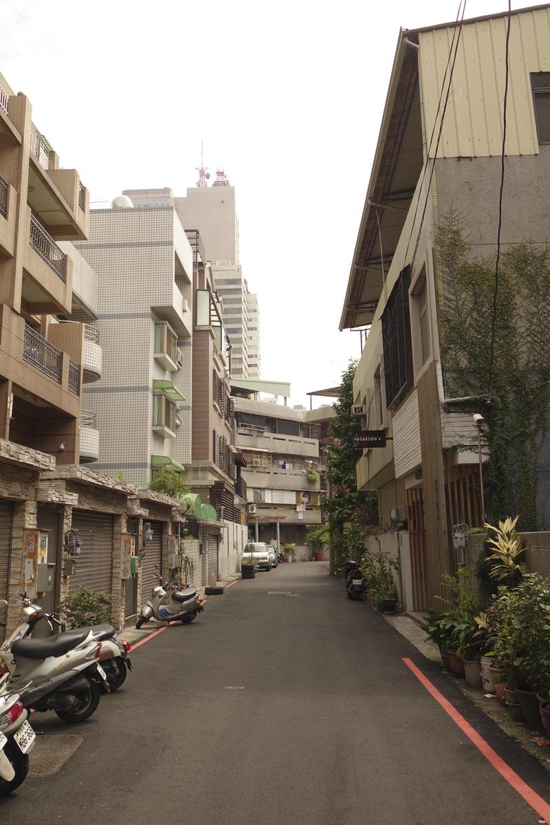 Mon voyage à Zhongxing Street à Taichung à Taïwan Taïwan