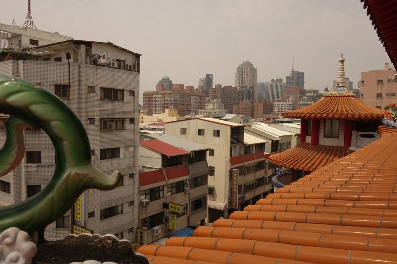 Mon voyage au Temple rue Dadun 19th Street à Taichung à Taïwan Taïwan