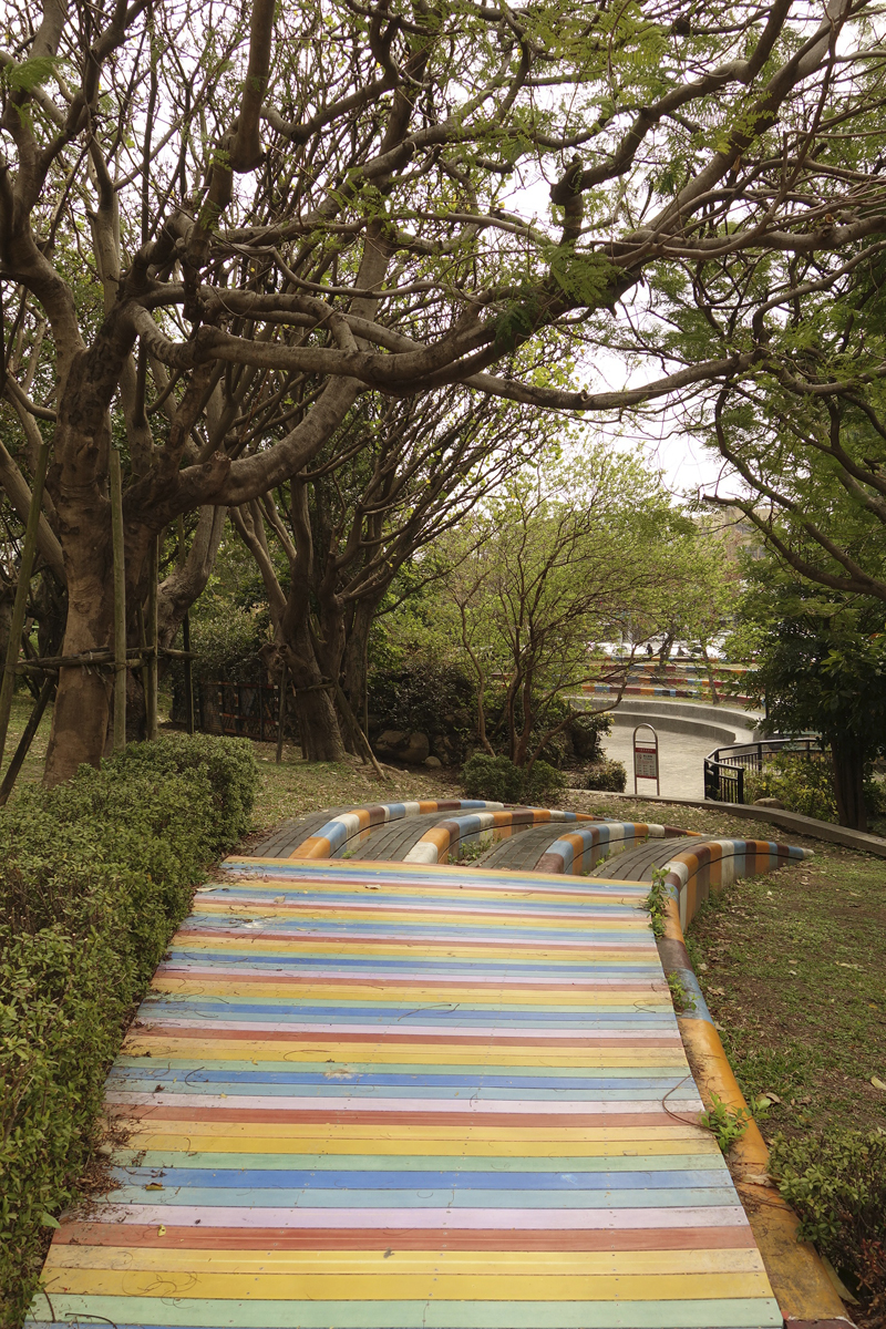Mon voyage à la Coulée verte à Taichung à Taïwan Taïwan