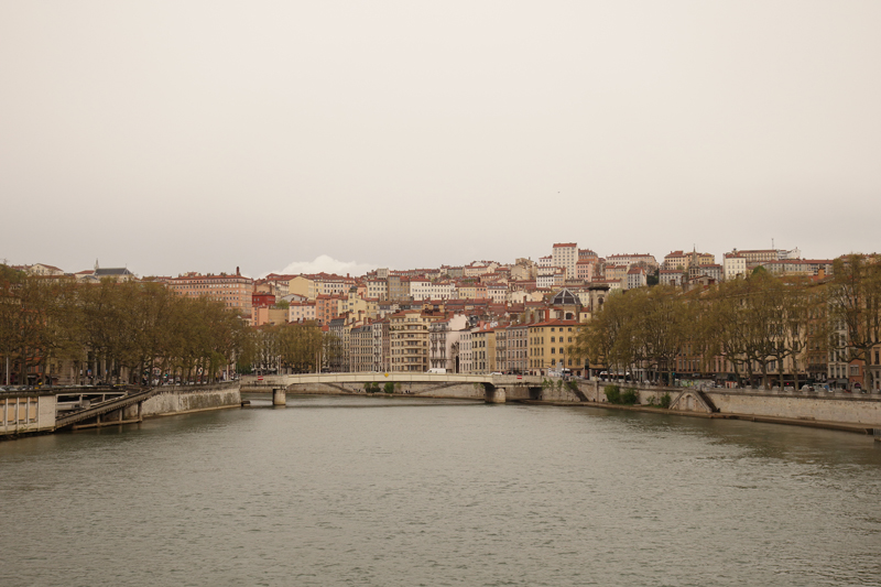Mon voyage à Lyon