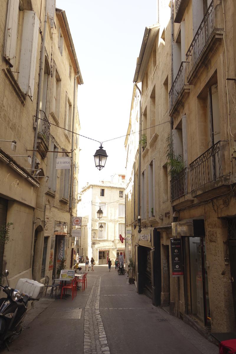 Mon voyage à Montpellier