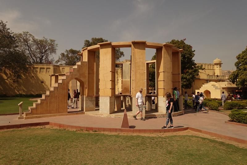 Mon voyage à Jaipur en Inde Jantar Mantar