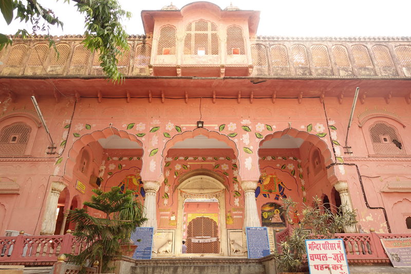 Mon voyage à Jaipur en Inde Hawa Mahal Palais des vents