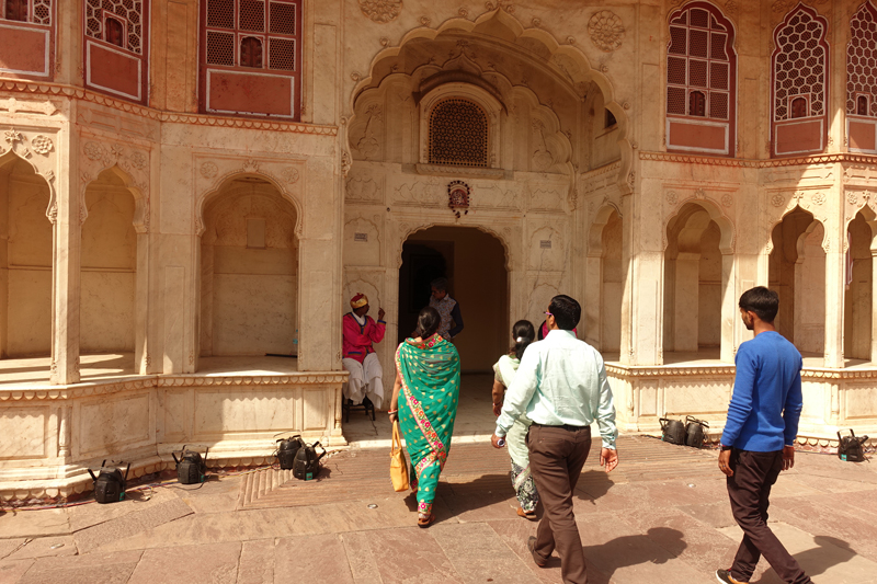 Mon voyage à Jaipur en Inde City Palace
