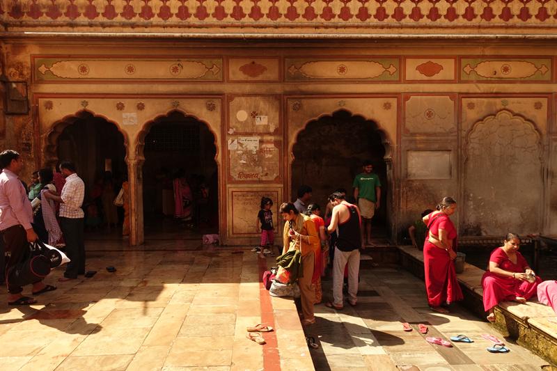 Mon voyage à Jaipur en Inde Temples de Galta Temples des Singes