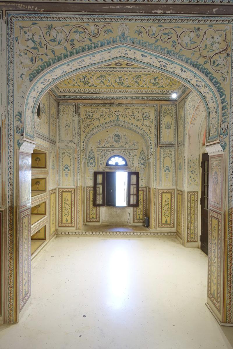 Mon voyage à Jaipur en Inde Temple Nahargarh