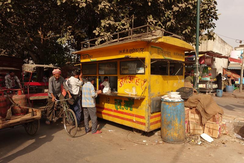 Mon voyage à Delhi en Inde