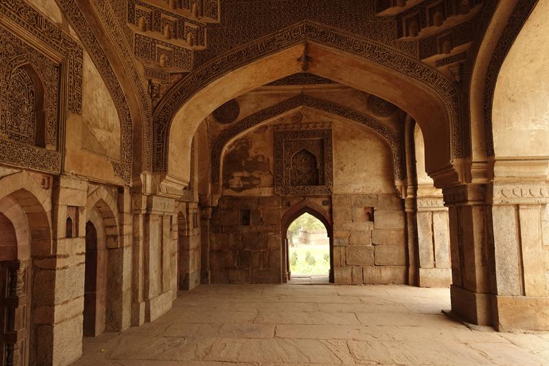 Mon voyage à Delhi en Inde Lodi Garden