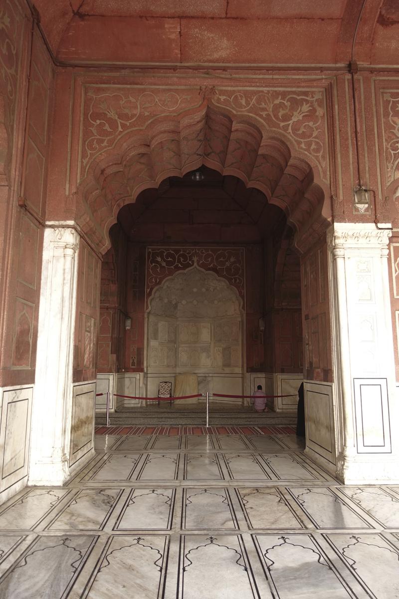 Mon voyage à Delhi en Inde Mosquée Jama Masjid